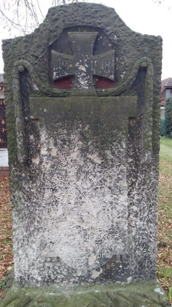 Denkmal Roitzschjora 1. Weltkrieg 1