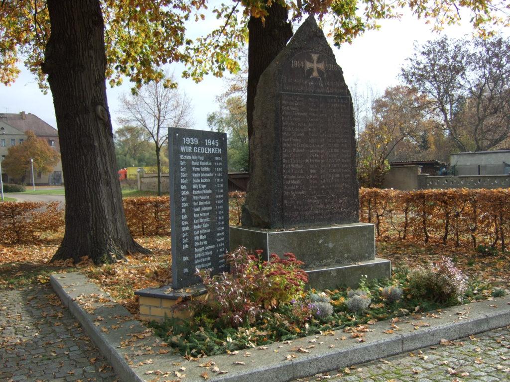 Denkmal Sausedlitz 1. Und 2. Weltkrieg 2