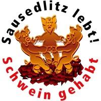 Drei Tanzende Schweine Sausedlitz Logo 3