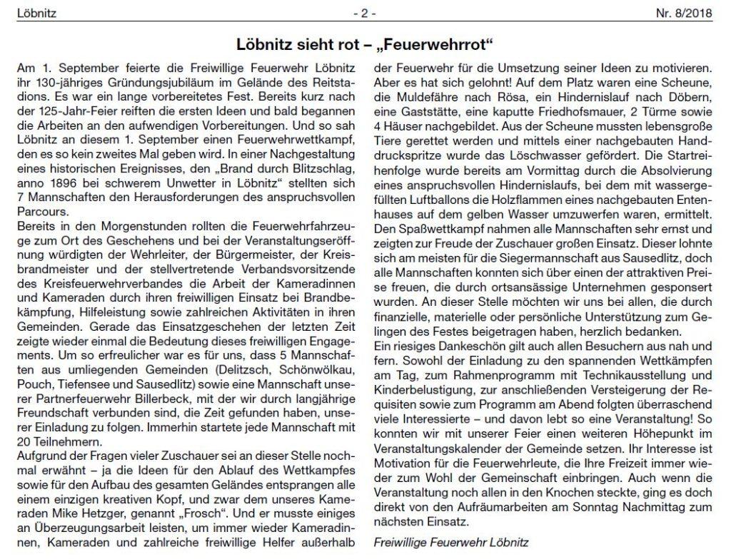 2018 09 22 Lobnitz Ausgabe 08 130jahreffw Text2