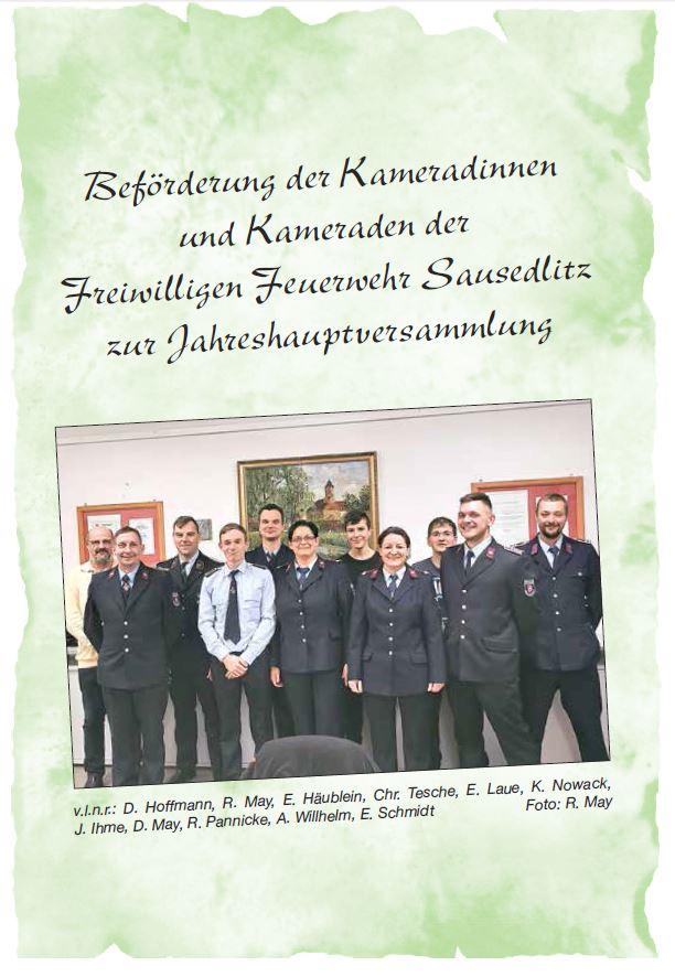 2020 02 Ausgabe Jhv Ffw Sausedlitz Ehrung Bild