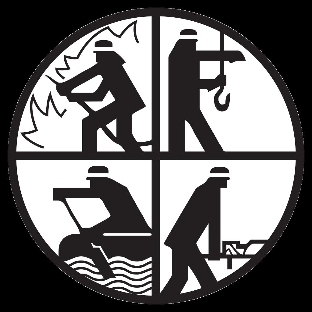 Ffw Logo Löschen Bergen Retten Schützen