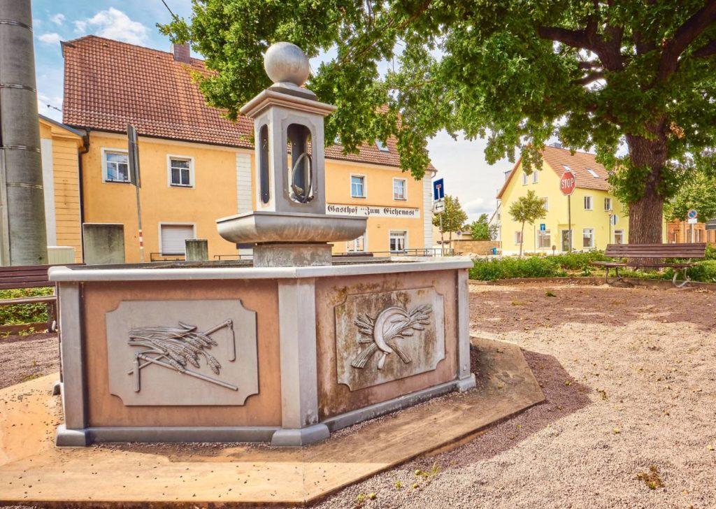 Löbnitz Dorfplatz