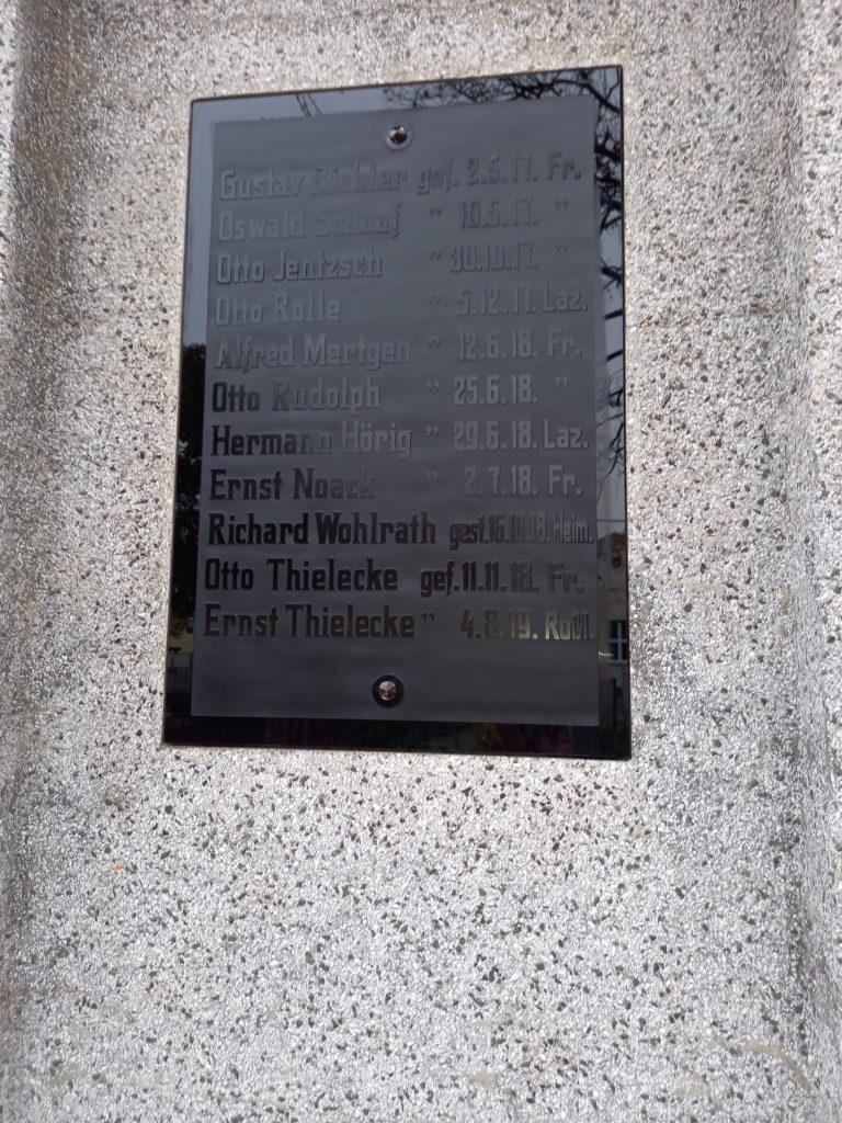 2020 11 10 Abnahme Kriegerdenkmal Evkirche 4