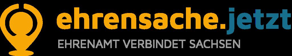 Logo Ehrensache Sachsen