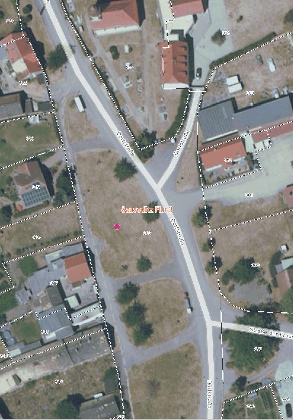 Standort Weissstorchmast Sausedlitz