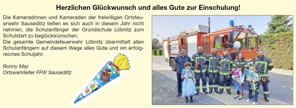 2021 09 04 Ffw Sausedlitz Schulanfaenger