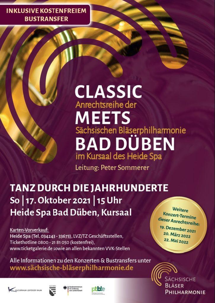 2021 10 17 Classic Meetts Bad Dueben Plakat